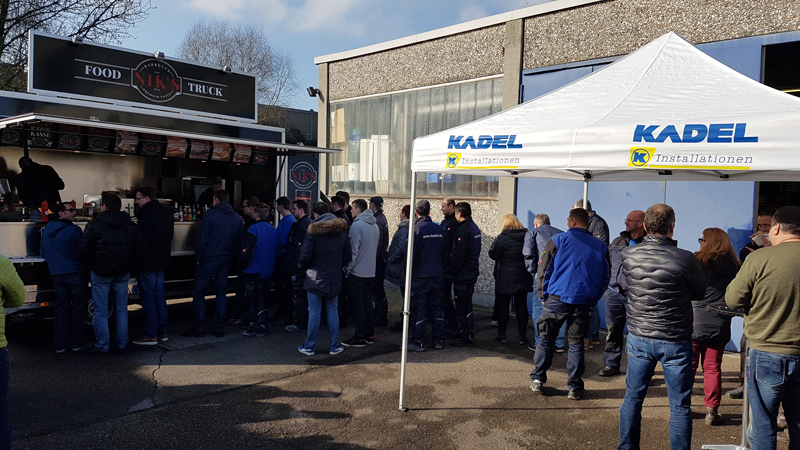 Foodtruck bei KADEL